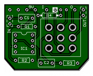 3PDT Buffered Bypass Board