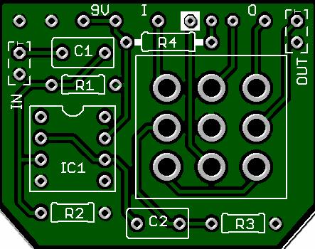 3pdt buffer board