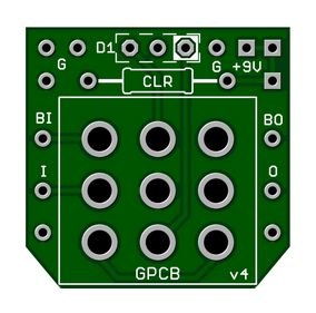 *  3PDT Wiring Board (1)pc. – Perfect for Combo Builds