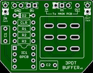 *3PDT Buffer Board v3 2021 – Best Quality