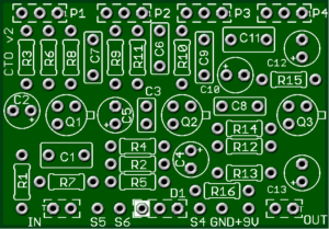 ColorTone Overdriver – The Best Colorsound Overdriver based PCB