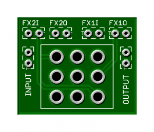 Easy Order Switching Board – 3PDT Toggle Version