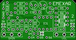 *Emexar – Best PCB Based on MXR Distortion + – DOD 250 – Clearance
