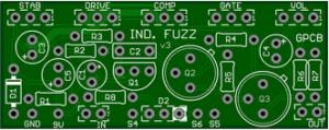 *Industrial Fuzz – A 5 Knob Fuzz – Version Update Clearance