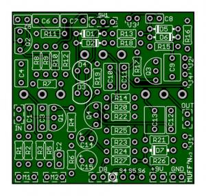 Big Muff Pi – MUFF'N – 10 variant 7 Mods