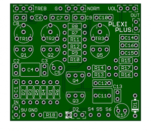 Plexi-Plus – The Best Plexi Plus Style PCB