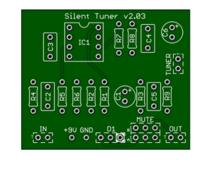 Silent Tuning with Quality Buffer Circuit