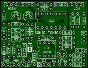 Sonic Tonic – Best Acoustic/Electric Sonic Maximizer PCB