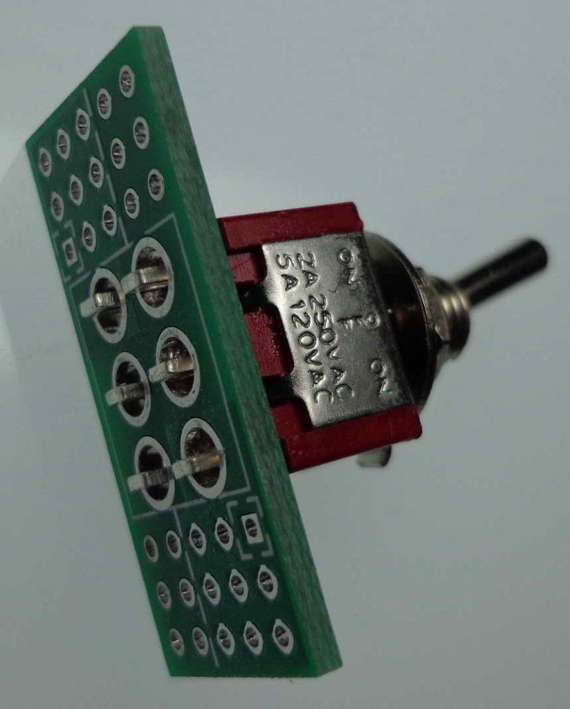 dpdt wiring board