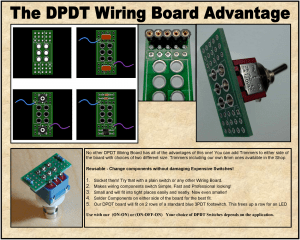 * DPDT – Wiring Board – Easy Mod Wiring for switches