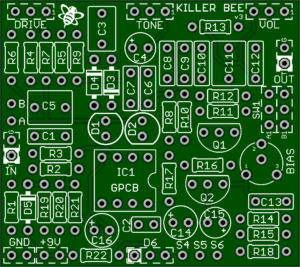Killer Bee – Best Honey Bee PCB (Clearance for version update)