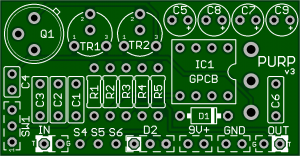 P.U.R.P – The Best Rangemaster PCB available!