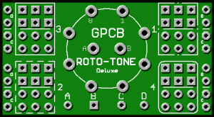 Roto-Tone Deluxe [w/ Free Switch] – Rotary Switchable Mod Options Made Easy
