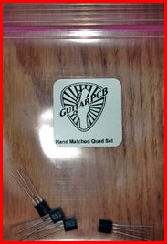 *2N5952 (4pc) Quad Set – Perfectly Hand Matched