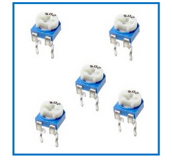 [GPCB] Trimmer – 6mm 5-Packs  Choose your value.