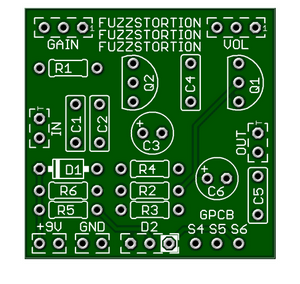 Fuzzstortion – A Hybrid Fuzz with smooth tube style breakup