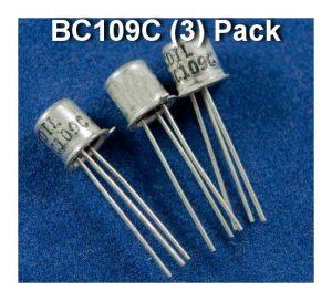[GPCB] – BC109C – NOS (3) Pack