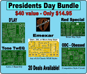 * Presidents Day Bundle – 20 Available