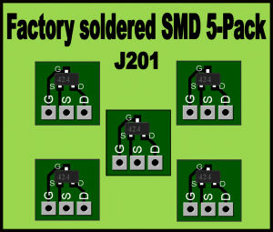 "J201 ""Factory Soldered"" Converter Board 5-Pack"