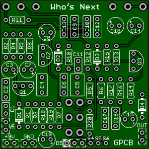 *  Who's Next: includes Free Mosfet Boost – 1st Run only!