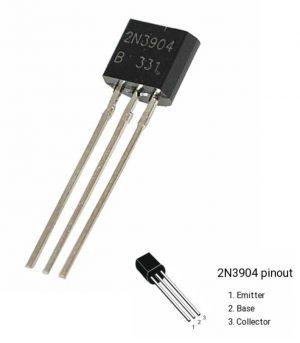 NPN Transistor 2N3904 – Common Transistor Choice