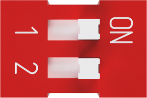 *Red Dip Switch – 2 Positions – For T-Drive