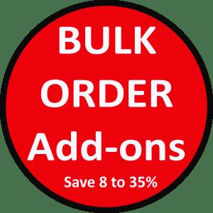 Bulk Order Add-Ons