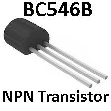 NPN Transistor BC546B for ColorTone Supa Tonebender