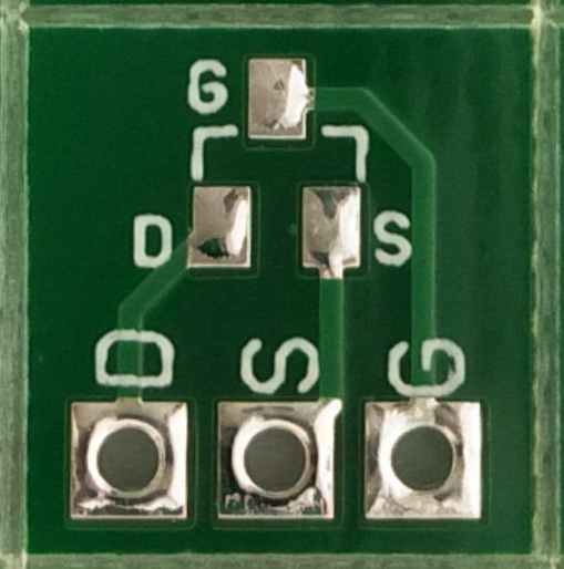 smd SOT23 adapter