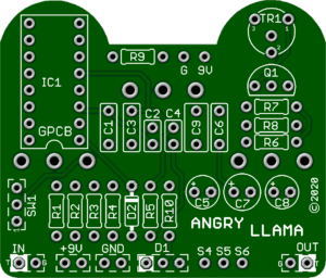 Angry Llama – Best Red Llama PCB with Enhancements