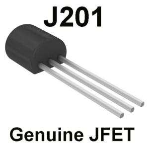 *JFET J201 – Guaranteed Genuine